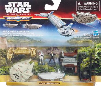 Star Wars : The Force Awakens - Micro Machines - Space Pursuit - NEW