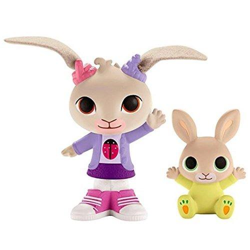 Bing - Coco & Baby Charlie Figure Set - Cbeebies - Fisher Price - 2015 - NE