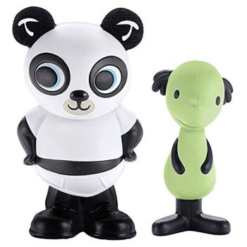 Bing - Pando & Padget Figure Set - Cbeebies - Fisher Price - 2015 - NEW
