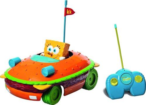 SpongeBob SquarePants - Krabby Patty RC Car - 2014 - NEW