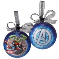 The Avengers - Christmas Baubles - Marvel - NEW