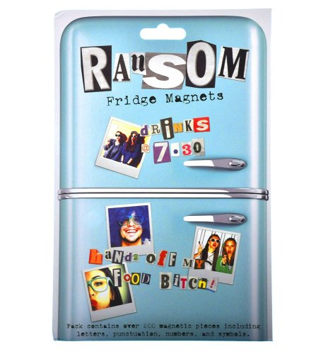 Ransom Fridge Magnets - Over 200 Pieces - NEW