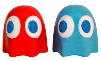 Pac Man - Ghosts Salt And Pepper Pots / Shakers - Paladone - NEW