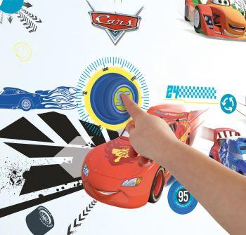 Cars - Ringading Doorbell Vinyl Sticker Set - Pixar - NEW