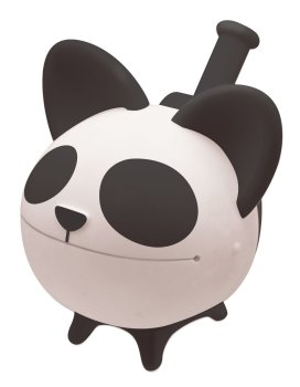 Chihuahua Whistle - Panda Design (From The Makers Of The Otamatone) - NEW