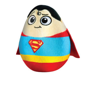 DC Super Heroes - Superman Plush Soft Toy - 2015 - NEW