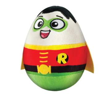 DC Super Heroes - Robin Plush Soft Toy Egg - 2015 - NEW