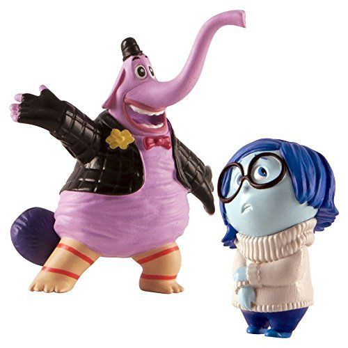 Inside Out Figures - Bing Bong And Sadness - 2 Pack - Pixar - NEW