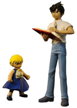 Zatch Bell - 2 Figure Set - Zatch And Kiyo - 2006 - RARE - NEW