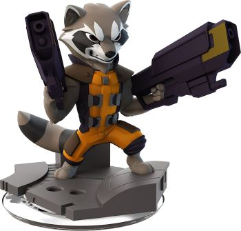 Disney Infinity 2.0 - Marvel Super Heroes - Rocket Raccoon - NEW