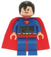 LEGO - Superman Minifigure Clock - NEW