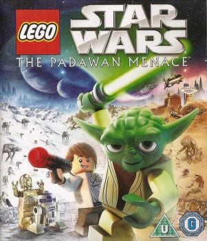 LEGO Star Wars : The Padawan Menace - Blu-ray - 2011 - NEW