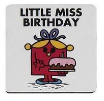 Little Miss Birthday Magnet - NEW