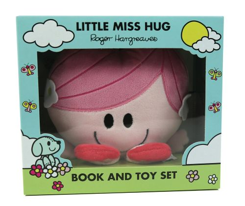 Little Miss Hug - Book And Plush Toy Set - NEW