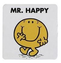 Mr Men - Mr Happy Magnet - NEW