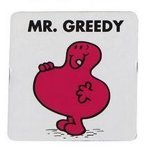 Mr Men - Mr Greedy Magnet - NEW