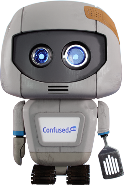 Confused.com - Stunt Herbert The Robot - Promotional Toy - 2016 - NEW