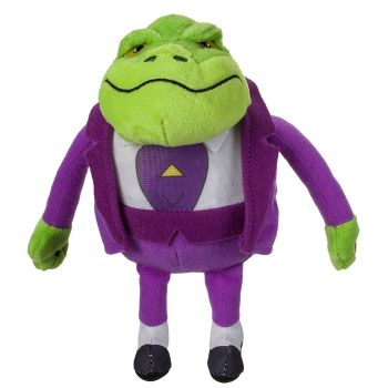 Danger Mouse - Baron Greenback Talking Plush Soft Toy - NEW