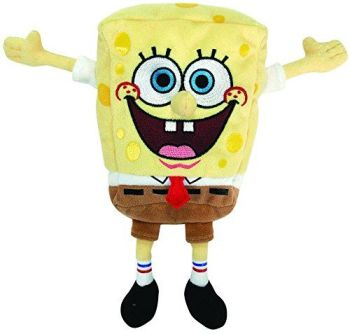 SpongeBob SquarePants - SpongeBob Plush Soft Toy - TY Beanies - NEW