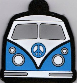 Camper Van Key Cover - Blue - NEW