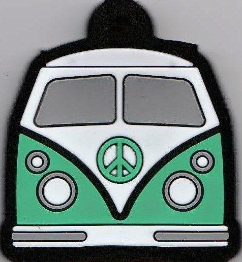Camper Van Key Cover - Green - NEW
