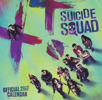 Suicide Squad - Official 2017 Calendar - NEW