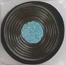 Liquorice Catherine Wheel Sweets Novelty Eraser - Blue - NEW