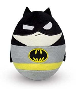 DC Super Heroes - Batman Plush Soft Toy Egg - 2015 - NEW