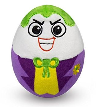 DC Super Heroes - Joker Plush Soft Toy Egg - 2015 - NEW