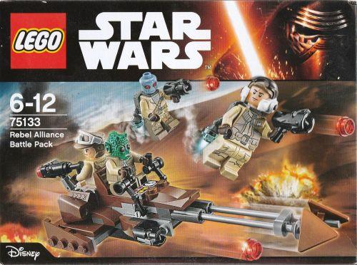 Lego Star Wars 75133 - Rebel Alliance Battle Pack - NEW