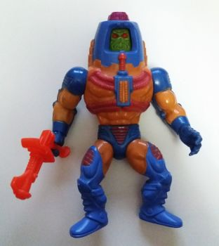 Masters Of The Universe - Man-E-Faces Figure - COMPLETE