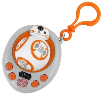Star Wars : The Force Awakens - BB-8 Pocket Pal Talking Keyring / Keychain  - NEW