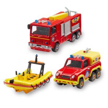 Fireman Sam - Die Cast Vehicles Three Pack - NEW