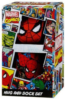 Spider-Man - Cup / Mug And Sock Set - NEW