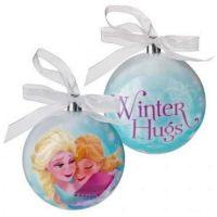 Frozen - Elsa And Anna Christmas Baubles - Disney - NEW