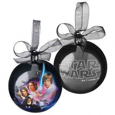 Star Wars - Christmas Baubles - Disney - NEW