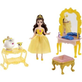 Disney Princess : Beauty And The Beast - Belle's Fairy-Tale Scene Playset - Disney - 2014 - NEW