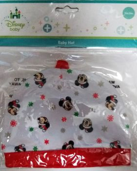 Mickey Mouse - Christmas Baby Hat - Disney - NEW