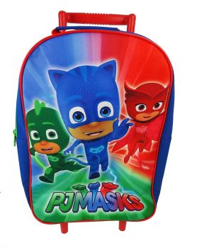 PJ Masks - Wheeled Trolley Bag - 2017 - NEW