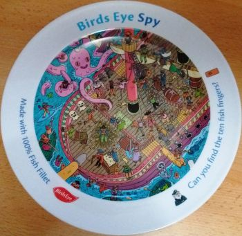 Birds Eye Spy Plate - Limited Edition - NEW