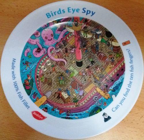 Birds Eye Spy Plate - Limited Edition - NEW