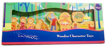 In The Night Garden - Wooden Character Toys - Set Of 8 - NEW
