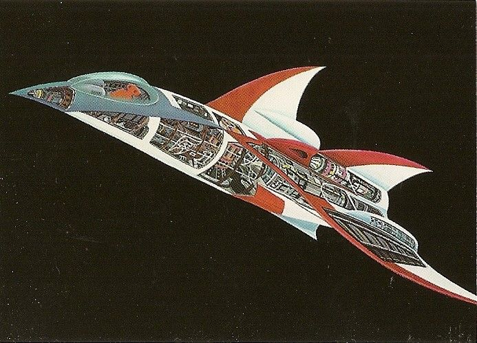 Battle Of The Planets - Collectable Trading Card - 04 - NEW