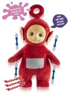 Teletubbies Jumping Po Soft Plush Toy - Cbeebies - Character - 2015 - NEW