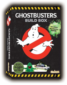 Ghostbusters Build Box - Slimer And Ecto-1 Paper Models - NEW
