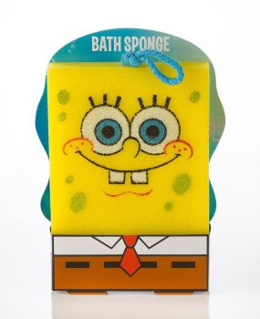 SpongeBob SquarePants - Bath Sponge - Glasses Design - 2013 - NEW