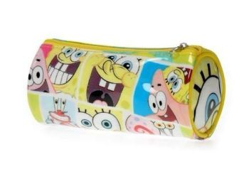 SpongeBob SquarePants - Cosmetic Purse / Pencil Case - 2011 - NEW