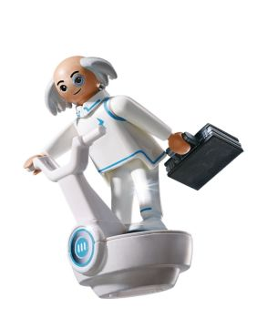 Playmobil - 6690 - Super 4 - Dr X - 2014 - NEW