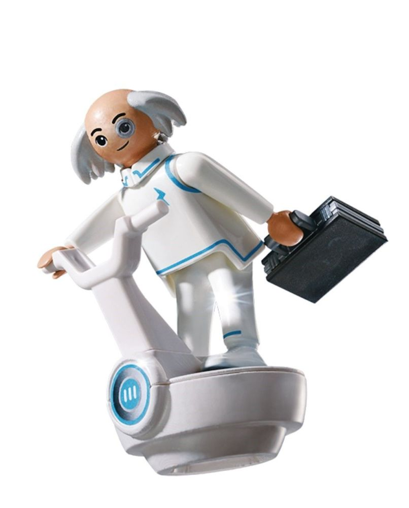 Playmobil - 6690 - Super 4 - Dr X - 2014 - NEW
