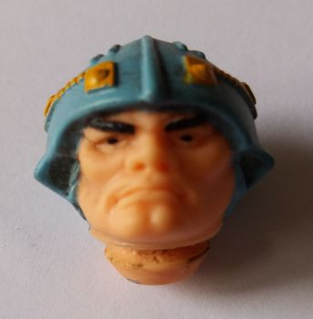Masters Of The Universe - Action Figure Head - Man-At-Arms